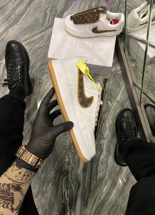 Мужские кроссовки 🔸nike air force 1 low x louis vuitton🔸