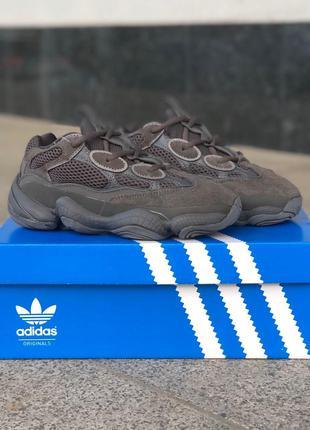 Кроссовки Adidas Yeezy Boost 500 Black