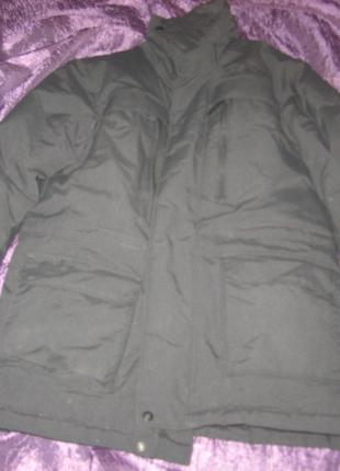 Куртка, пуховик, р. 152, б/у, на возраст 10-11 лет