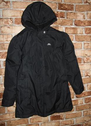 Куртка пальто девочке  зима термо 9-10 лет trespass