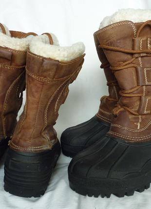 Немецкие зимние ботинки с войлочным валенком 37р и 40р, Crane