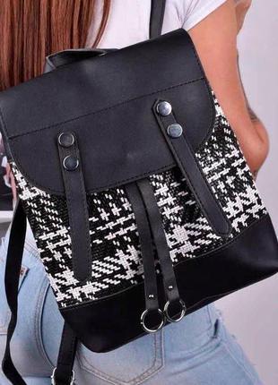 Рюкзак женский черный / жіночий