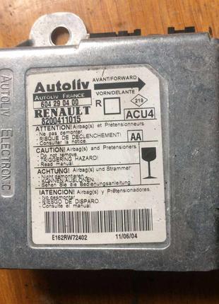 Б/у блок управления AIRBAG Renault Megane Scenic 2, 8200411015