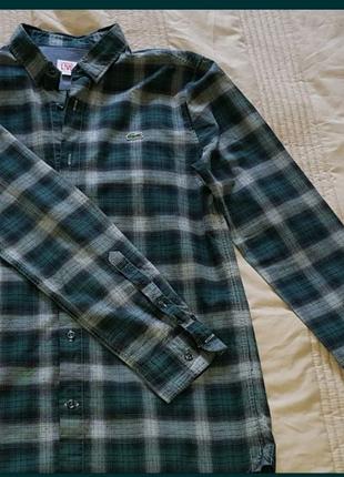Рубашка Lacoste Live original мужская/подростковая S/M 46-48