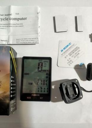 Велосипедный спидометр INBIKE Водонепроницаемый Новый