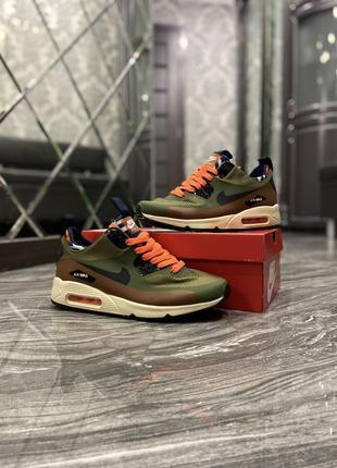 Кроссовки Nike Air Max 90 Mid Winter Green