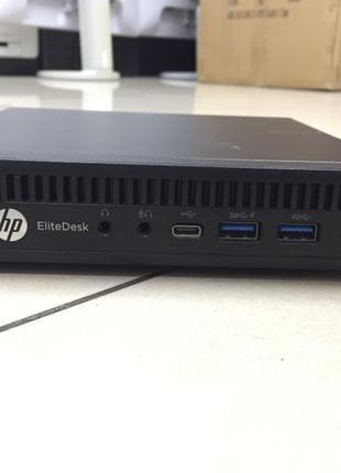 Hp EliteDesk 800 G2 mini i5-6500t. 8Gb. 128Gb SSD WIFI.БЖ
