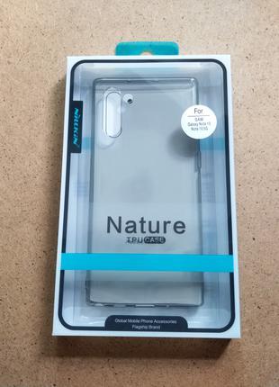 Чехол-накладка Nillkin Nature TPU для Samsung Galaxy Note 10