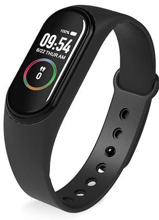 Smart band m4 умные фитнес часы с измерением давления