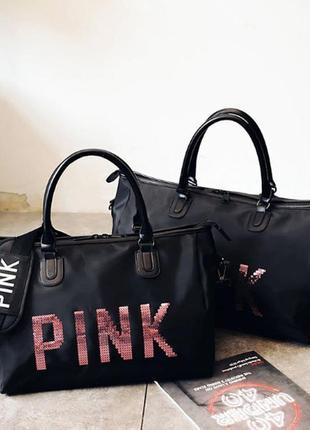 Спортивная сумка victoria`s secret pink