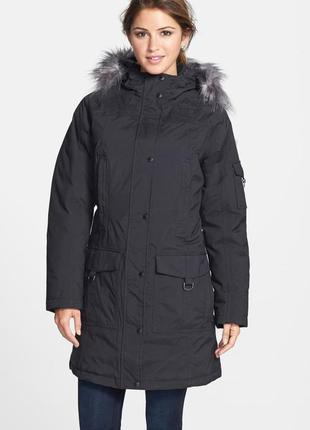 Пуховая парка пуховик пальто куртка