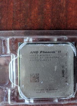 Трёх ядерный amd phenom ii x3 710 am3+ am3