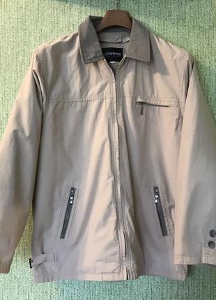 Куртка lionado утеплена підкладкою, вітровка, 56 розмір,