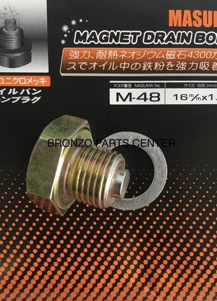Ремонтная пробка масляного поддона  MASUMA M48 16x1.5 mm