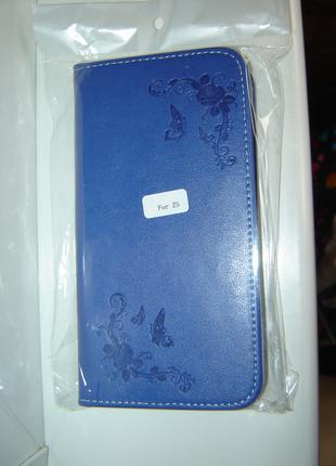 Чехол Sony Z5 Dual,e6603,e6633,e6653,e6683 синий