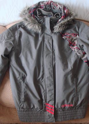 Куртка зимова adidas. Оригінал. Розмір - 34/36