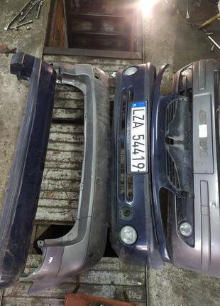 Бампер Рено лагуна Renault Laguna 2 передний задний бампер