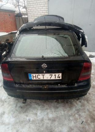 Бампер задний опель астра. Разборка Opel ASTRA G (Опель Астра)