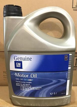 GM Motor Oil Dexos2 5W-30 5/1L