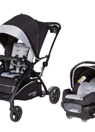 Коляска 5 в 1 для детей разного возраста и автокресло Baby Tre...