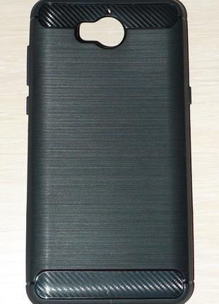 Чехол Global для Huawei Y5 2017 черный 0021