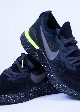 Чоловічі кросівки Nike Epic React FlyKNIT 2 SE Black (art.CI6443-