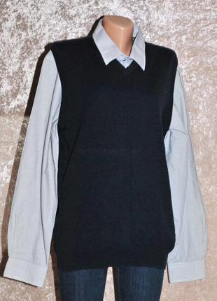 Мужская жилетка  черная пятница скидки!!! до 60 %