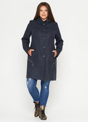 Шерстяное фабричное пальто belanti 901