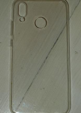 Чехол Global для Huawei P20 Lite светлый 0027