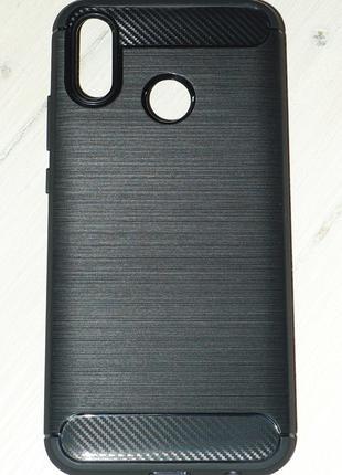 Чехол Global для Huawei P20 Lite черный 0029