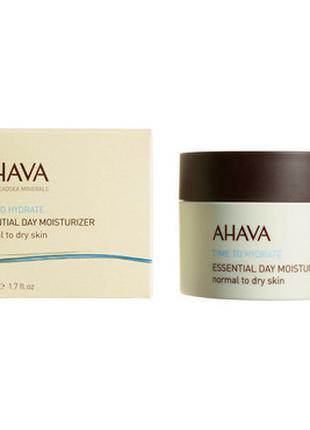Крем дневной Ahava Увлажняющий для нормальной и сухой кожи лица