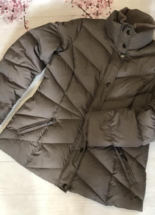 Куртка пуховик большой размер пух зимняя от esprit