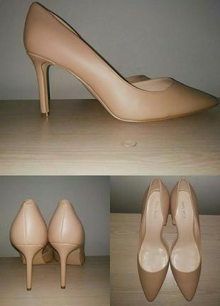 Туфли 43-44 р кожа лодочки