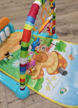 Развивающий коврик Детский игровой коврик интерактивный
