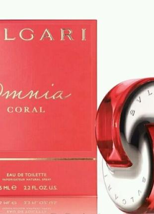 Женская туалетная вода Omnia Coral Bvlgari 65 мл