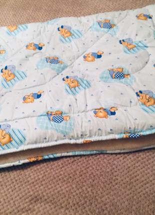 Одеяло меховое детское