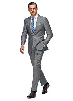 Пиджак серый 48-50р