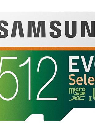 Карта памяти Samsung 512GB MicroSD EVO Select