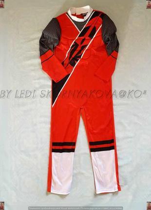"""Новый карнавальный костюм 3d """"гонщик ралли"""" на мальчика 7-8 лет"""