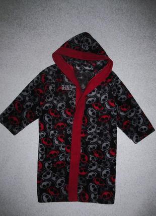 Флисовый халат 3-4года (без пояса)