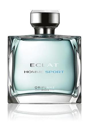 31236 Туалетна вода Eclat Homme Sport Орифлейм 75 мл код 31236