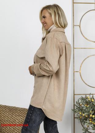Брендова асиметрична жіноча сорочка M
