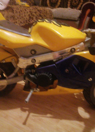 Міні кітс мотоцикл
