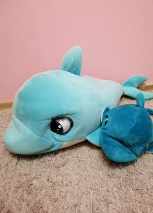 Интерактивная игрушка Маленький дельфинёнок Blu Blu