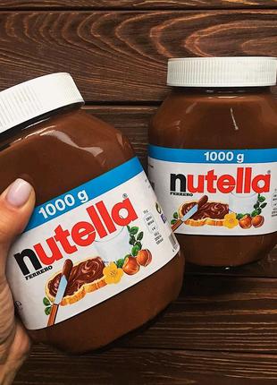 Шоколадная паста Nutella нутела 1кг,750,825 грам Доставка!