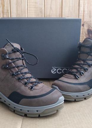 Кожаные трекинговые ботинки ecco biom venture tr на мембране g...