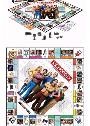 Настільна гра Monopoly The Big Bang Theory АНГЛІЙСЬКОЮ!