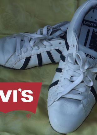 Кросівки шкіряні Levi's р.44, устілка 29 см