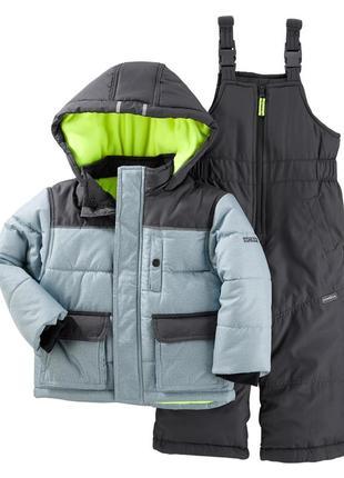 Комбинезон 2в1 зимний для мальчика  (куртка+штаны) в наличии