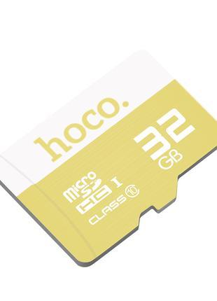 Карта памяти MicroSD Hoco 32GB Class 10 Original